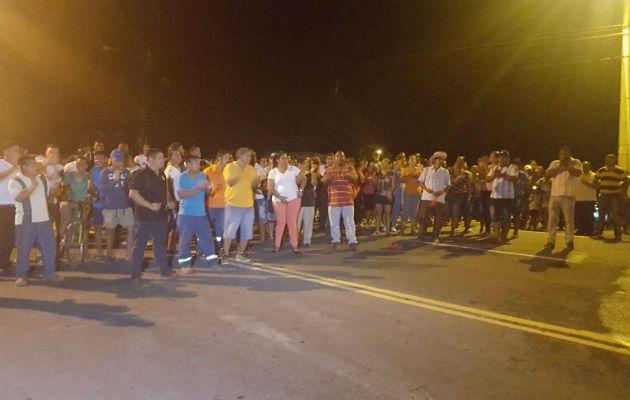 Protestan por 8 horas en la ciudad de Colón por falta de agua