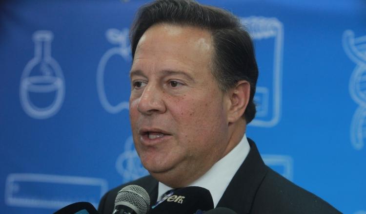 El presidente Varela reveló su lista de donantes, tras ser acusado por su exasesor y copartidario Ramón Fonseca Mora. /Foto Archivo