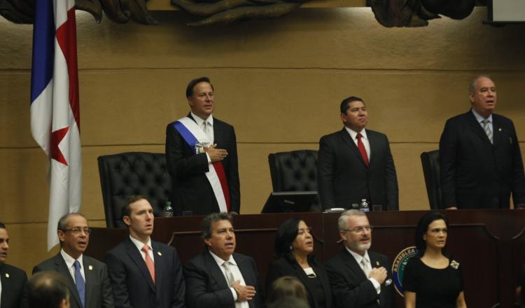 El presidente Juan Carlos Varela ha sido acusado de orquestar casos judiciales contra sus opositores políticos. /Foto Archivo