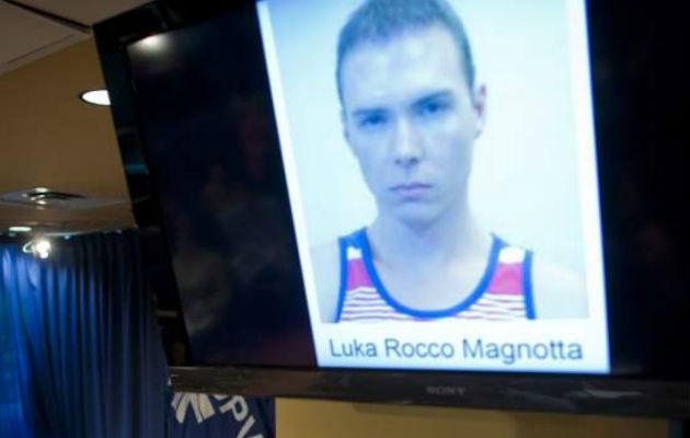 Luka Magnotta. Foto/ EFE