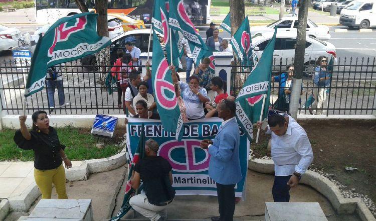 Se prevén nuevas protestas de las bases de CD ante la decisión. /Foto Archivo