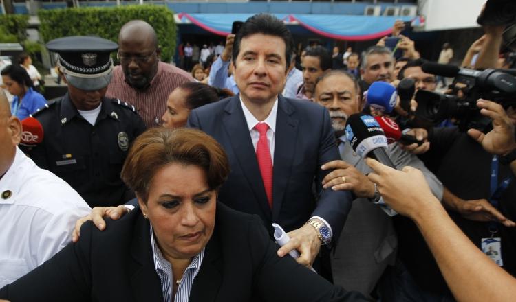 El juicio al expresidente de la Corte Suprema recibió una gran divulgación en los medios. /Foto Archivo