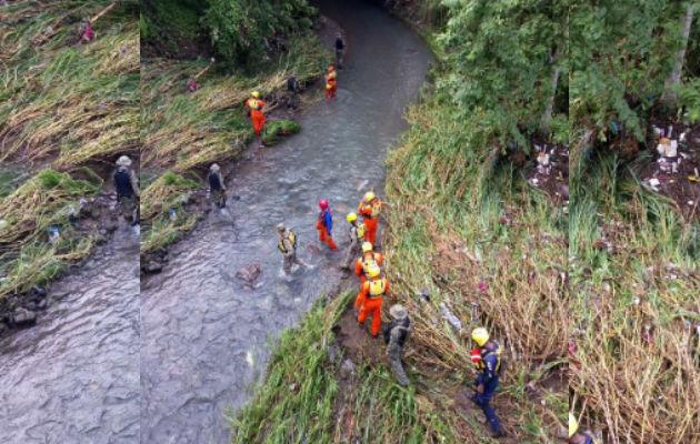Se mantiene un operativo para localizar el segundo desaparecido.