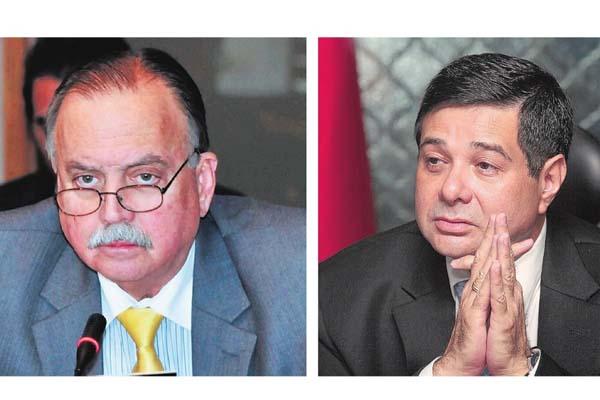 Abogado y exdiputado de la República Guillermo Cochez. / Diputado Jorge Alberto Rosas y  socio de la firma de abogados Rosas y Rosas. /Foto Archivo