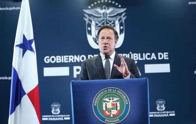El anuncio fue dado en cadena nacional por el presidente Varela.