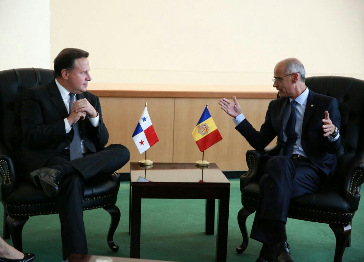 Varela se reúne con 5 jefes de Estado