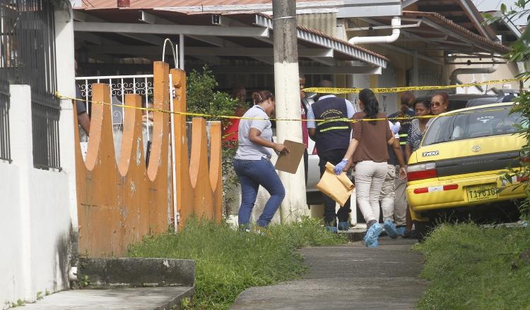Dos personas fueron asesinadas el lunes, en la tercera etapa de Santa Librada, San Miguelito. /Foto Archivo