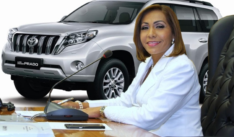 La presidenta de la Asamblea Nacional, Yanibel Ábrego, autorizó la contratación directa de estos vehículos para su uso. Archivo