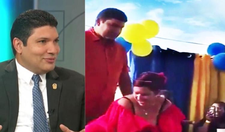El diputado Soto ofreció disculpas públicas, pero ayer en Telemetro  argumentó que no considera que incurrió en excesos o extremos. /Foto Twitter