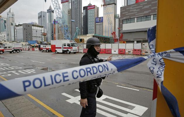 Hallan bomba sin estallar en obras de construcción en Hong Kong