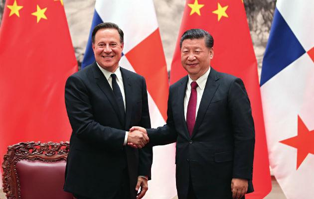El acuerdo de cooperación entre China y Panamá fue firmado en noviembre de 2017 / Archivo.