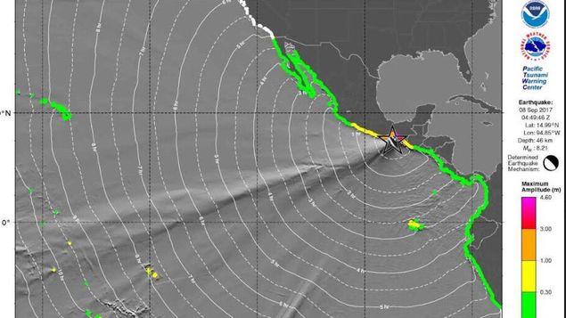 El temblor fue de 7.5 y su epicentro se localizó en el Estado de Oaxaca / Redes Sociales.