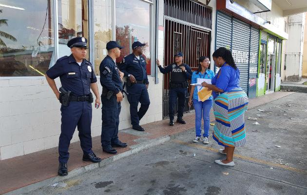 Ciento de policías desplegados en Colón por operativo 'Caribe Azul'