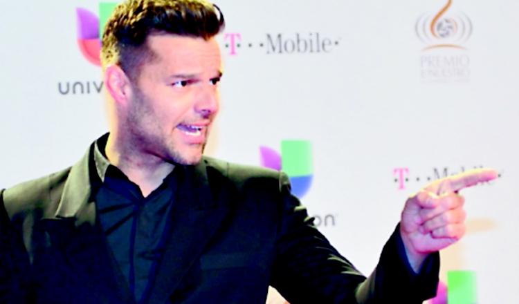Ricky Martin sube atrevida foto a su cuenta de Instagram
