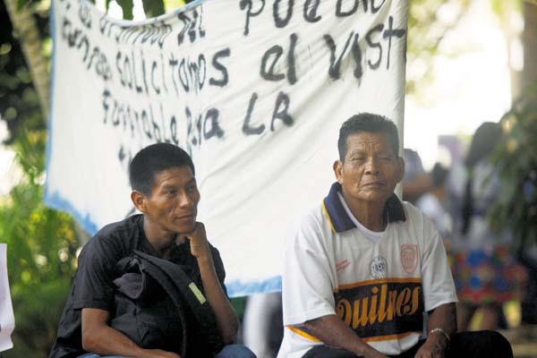 Hay humo blanco entre indígenas y Mi Ambiente, pero no acuerdo definitivo