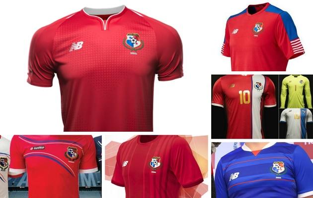 ¿Cuál te gusta más  Así ha evolucionado la camiseta de la selección de  Panamá  4feec5dc350