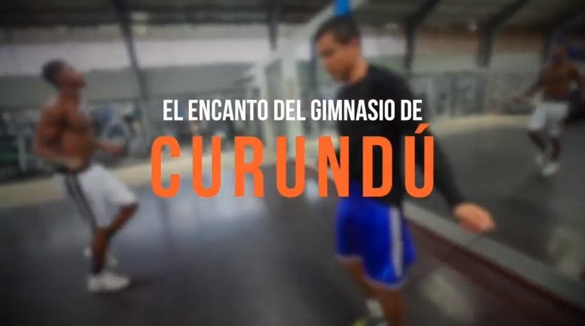 El encanto del gimnasio de Curundú