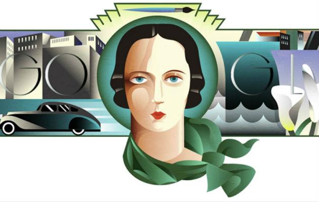 La pintora desarrolló un estilo distinto en la era Art Deco.