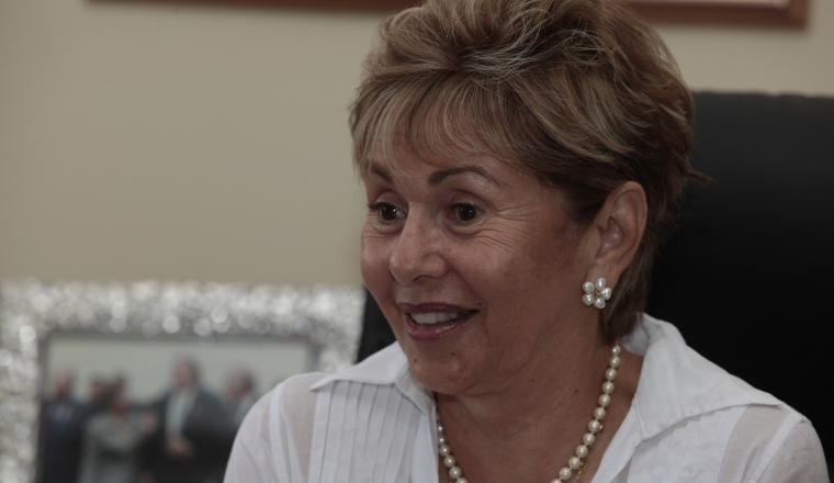 Mireya Moscoso. Expresidenta de Panamá. /Foto Archivo.