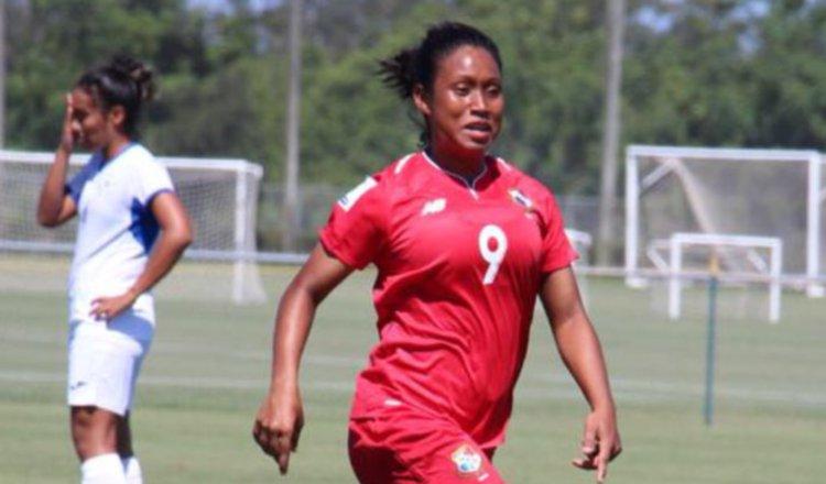 Karla Riley marcó dos tantos ayer contra Nicaragua. Cortesía