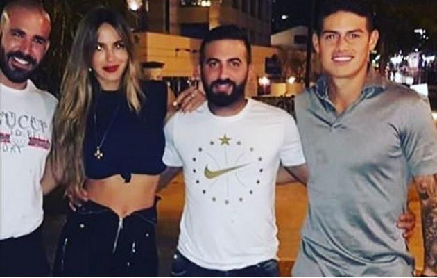 James Rodríguez, ¿de romance con la ex de Canelo y Marc Antonhy?
