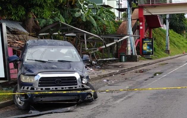 Confirman detención provisional para conductor colombiano que atropelló y mató a tres personas en Villa Lorena