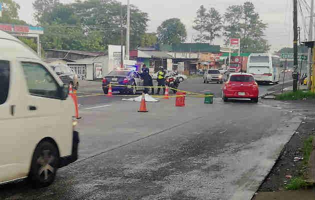 Hombre muere víctima de atropello y fuga en el distrito de Capira