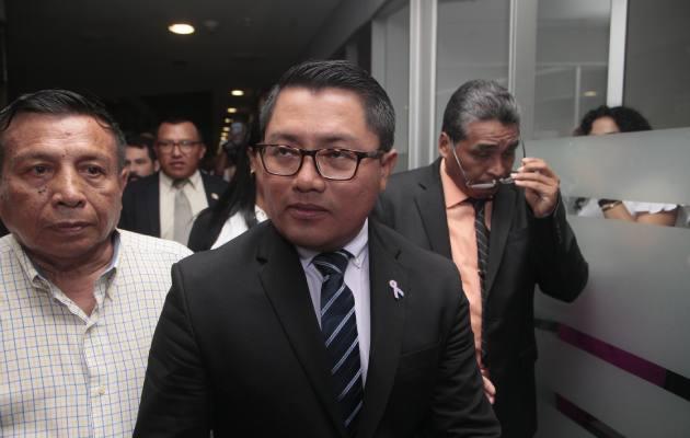 El diputado Arquesio Arias es acusado de delitos sexuales en perjuicio de dos mujeres, entre ellas una menor de edad.