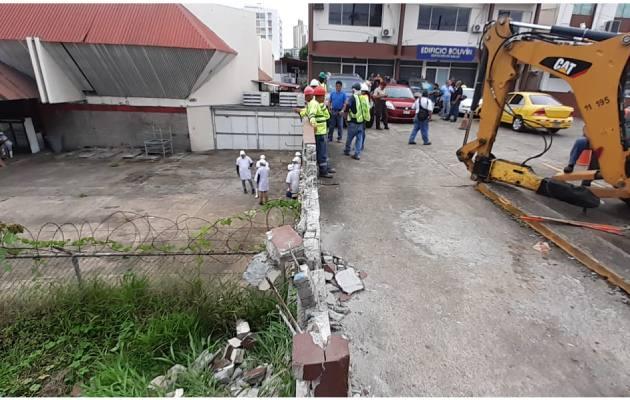 Empresa Kiener se quedará sin estacionamientos en la vía Transístmica, por una orden de desalojo del MOP