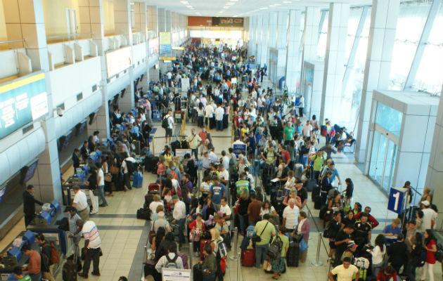 Aeropuerto de Tocumen espera subir un 10% movimiento de pasajeros durante fiestaspatrias