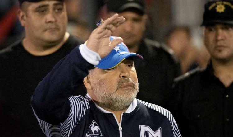 Diego Maradona agradece las muestras de cariño en su cumpleaños 59