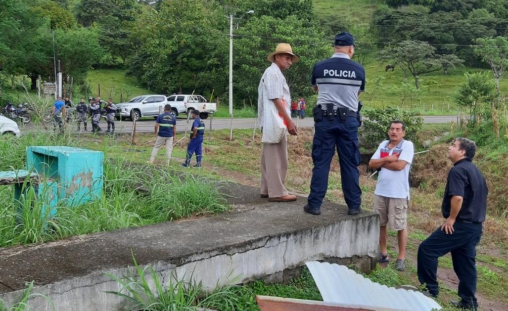 El triple homicido ocurrió en Los Algarrobos, distrito de Soná, provincia de Veraguas. Foto: Melquiades Vásquez