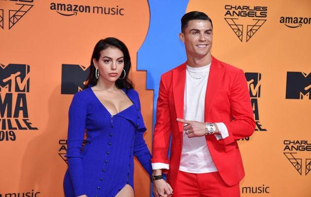 Cristiano Ronaldo y Georgina, ¿tensión en plena alfombra roja?
