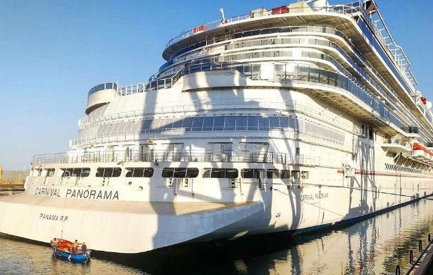 Crucero Carnival Panorama se integra al registro de naves con bandera panameña