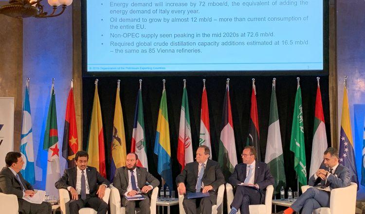 La demanda de crudo se frenará según pronóstico de la OPEP