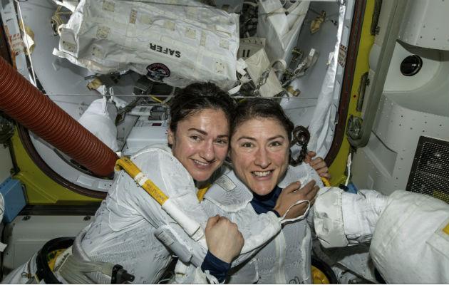 Primera caminata espacial liderada por mujeres