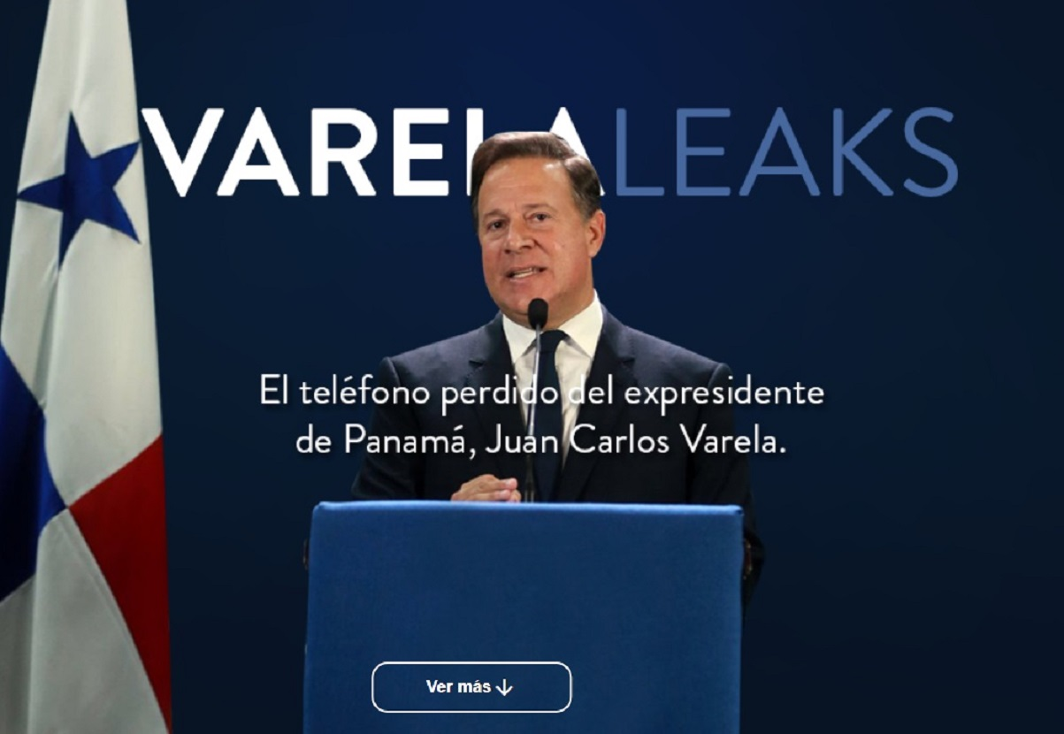 Se filtran chat del expresidente Juan Carlos Varela