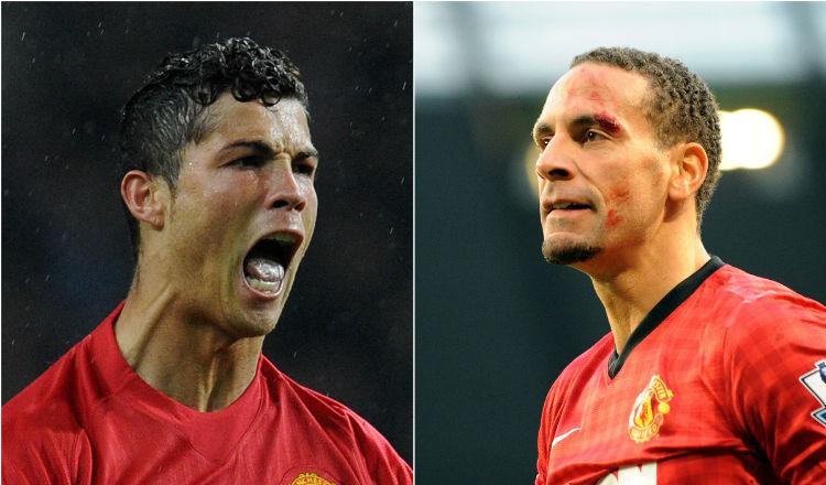 Rio Ferdinand vio salir 10 personas de la habitación de Cristiano Ronaldo