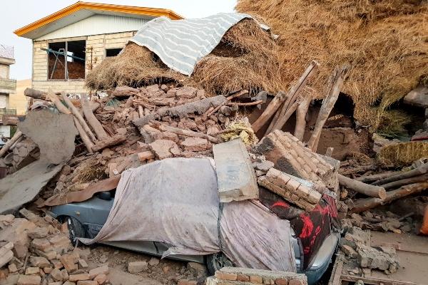 Sismo de 5.9 grados deja cerca de seis muertos y más de 300 heridos en Irán