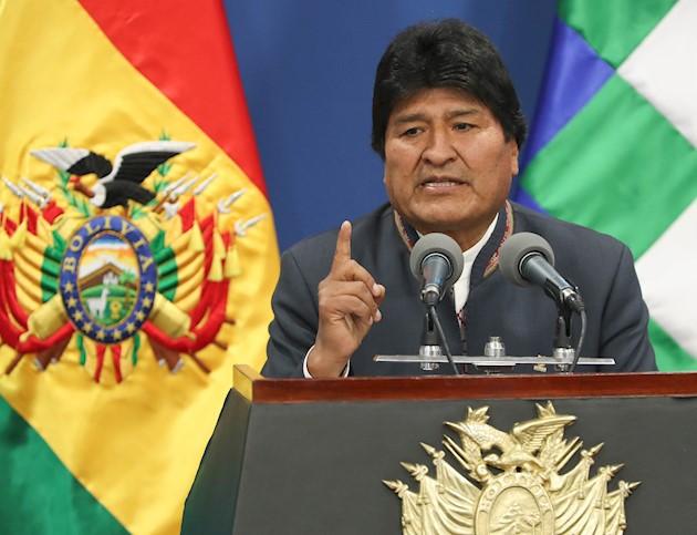 Morales declaró que el próximo proceso electoral, sin concretar fechas, será llevado a cabo por