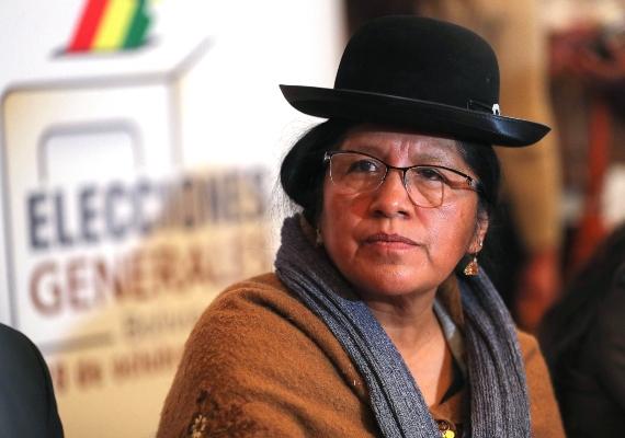 Arrestan a la presidenta del Tribunal Supremo Electoral de Bolivia