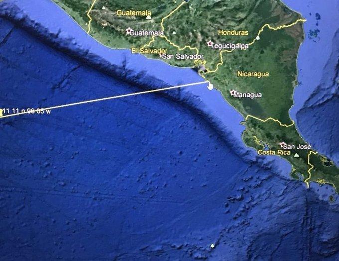 Alertan sobre posible tsunami en costas de El Salvador y Nicaragua
