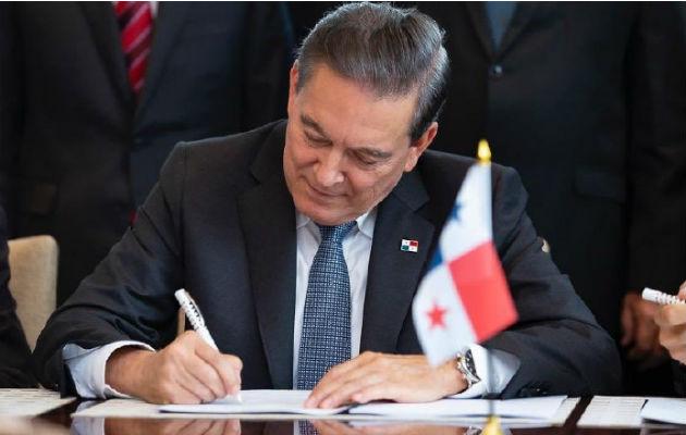 Laurentino Cortizo sanciona Presupuesto General del Estado para el año 2020