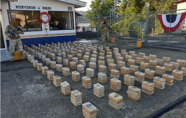 Senan decomisa 800 paquetes de droga en las costas de Chepo
