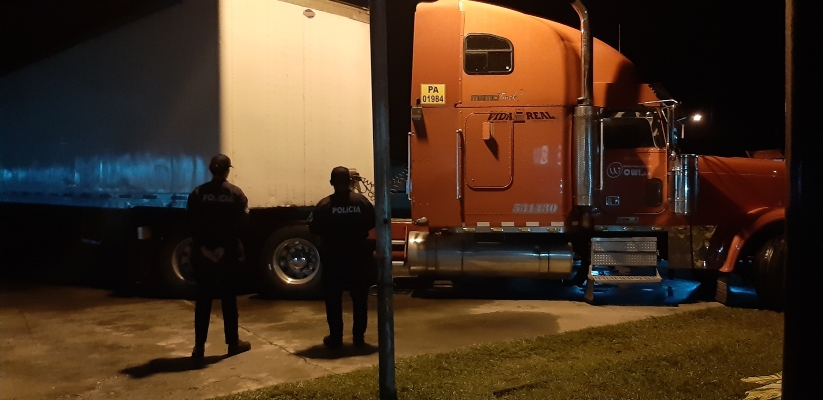 En Veraguas encuentran cien mil dólares en efectivo en un camión