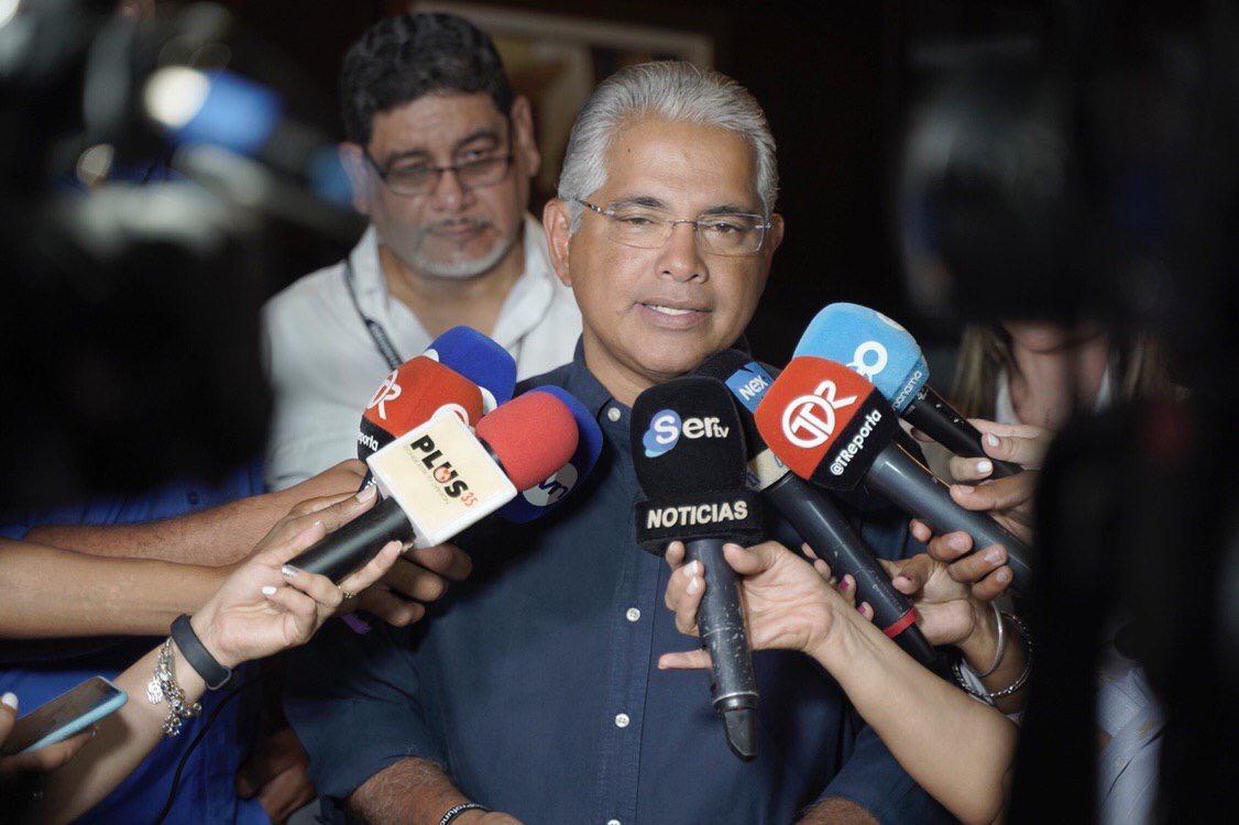 José Blandón es el presidente de la junta directiva transitoria del Partido Panameñista
