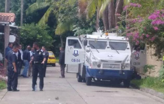 El hurto fue frustrado por la Policía Nacional.