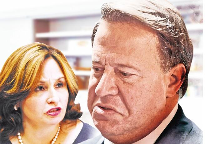 Juan Carlos Varela nombró a hermana de Kenia Porcell en la ATP