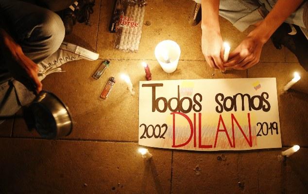 Estudiante colombiano Dilan Cruz murió por disparo con escopeta de perdigones