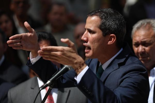 Rebelión en la Asamblea Nacional contra Juan Guaidó
